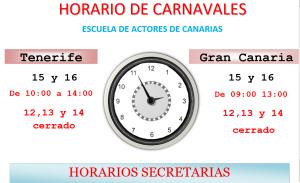 CARNAVAL HORARIO WEB