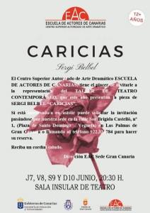 Caricias INVITACIÓN