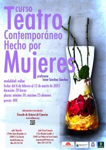 Carteñ Teatro comtemporáneo