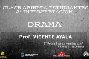 Cartel Drama 2º CABECERA