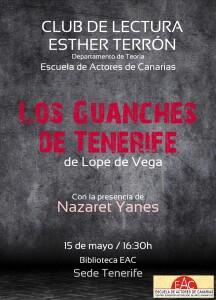 Cartel Los Guanches de Tenerife