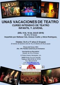 Cartel Teatro Infantil y Juvenil VERANO 2018 (1)