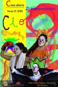 Cartel clown 2019 con fecha