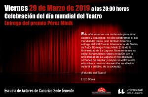 Cartel corregido día Mundial del Teatro