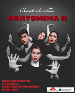 Clase Abierta PANTOMIMA II CASAD