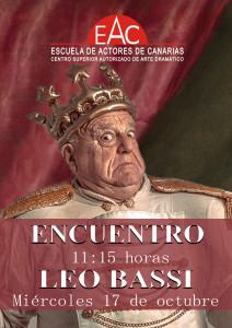 Leo Bassi_18-19 Tenerife para cartel