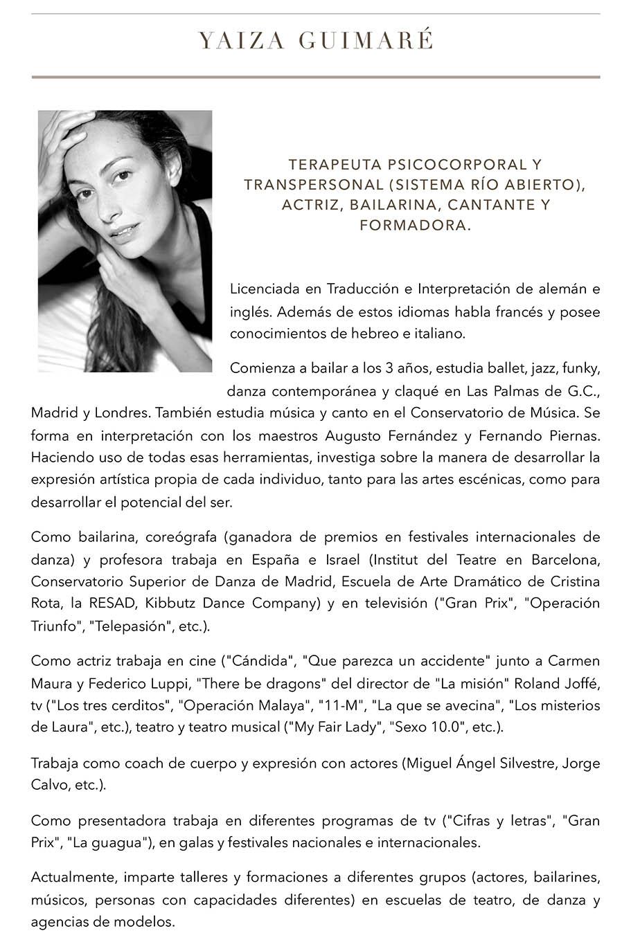 Famoso Ejemplos De Curriculum Vitae Para Bailarines Elaboración ...