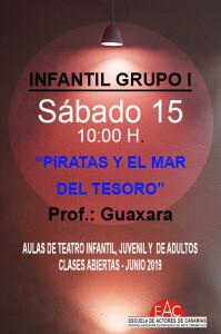 Teatro infantil y juvenil Actividades Junio INDIVIDUAL peq 2