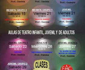 Teatro infantil y juvenil Actividades Junio peq