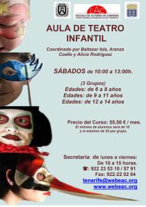 cartel Infantil anual